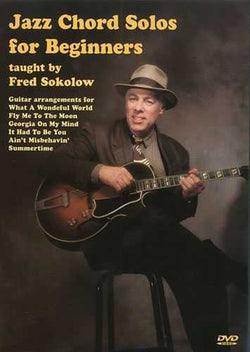DVD - Jazz Chord Solos for Beginners