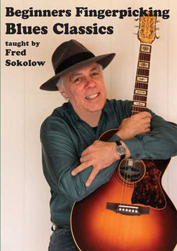 DVD - Beginner's Fingerpicking Blues Classics