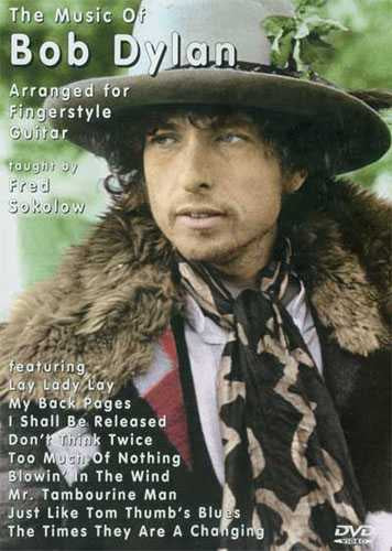 DVD-The Music of Bob Dylan Arranged for Fingerstyle Guitar