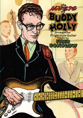 DVD-The Music of Buddy Holly Arranged for Fingerstyle Guitar