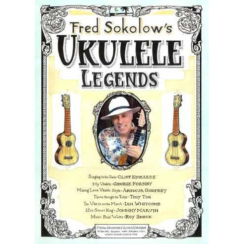 DVD - Fred Sokolow's Ukulele Legends
