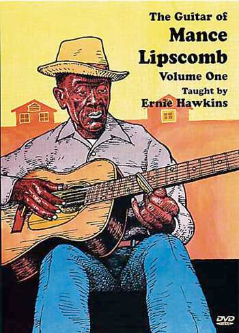 DVD-The Guitar of Mance Lipscomb, Vol. 1