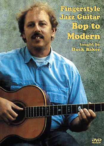 DVD - Fingerstyle Jazz Guitar: Bop to Modern