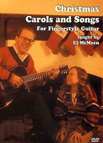 DVD - Christmas Carols and Songs for Fingerstyle Guitar