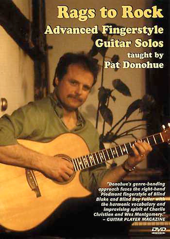 DVD - Rags to Rock - Advanced Fingerstyle Guitar Solos