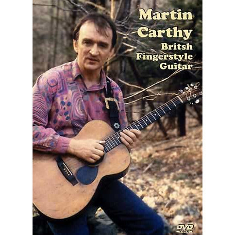 DVD - Martin Carthy - British Fingerstyle Guitar