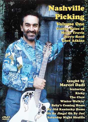 DVD - Nashville Picking 1 / Guitar Solos of Merle Travis, Jerry Reed & Chet Atkins
