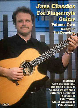 DVD - Jazz Classics for Fingerstyle Guitar, Vol. 2