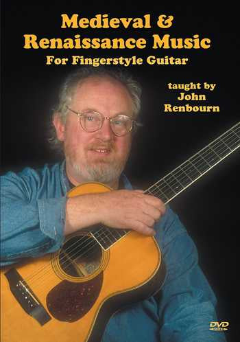 DVD - Medieval & Renaissance Music for Fingerstyle Guitar