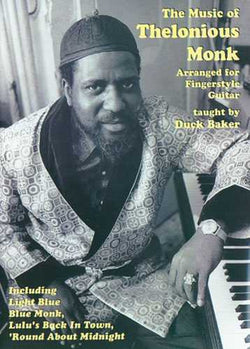 DVD-The Music of Thelonious Monk Arranged for Fingerstyle Guitar