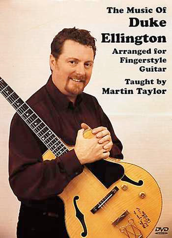 DVD-The Music of Duke Ellington Arranged for Fingerstyle Guitar