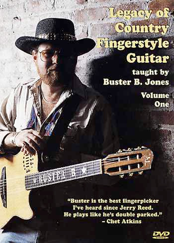 DVD - Legacy of Country Fingerstyle Guitar, Vol. 1