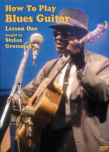 DVD - How to Play Blues Guitar, Lesson One