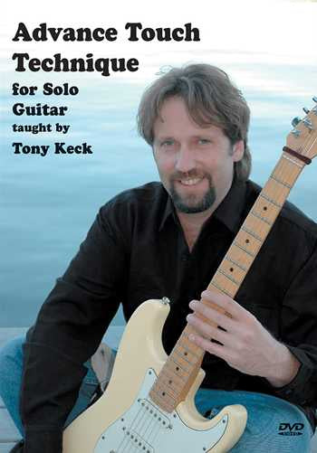 DVD - Advance Touch Technique for Solo Guitar