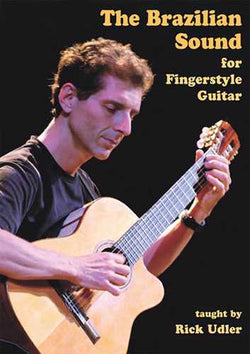 DVD - Brazilian Sounds for Fingerstyle Guitar