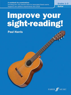 Improve Your Sight Reading Guitar Grades 1-3