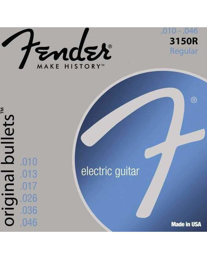 Fender 3150R Original Bullets Pure Nickel Regular Electric Guitar Strings