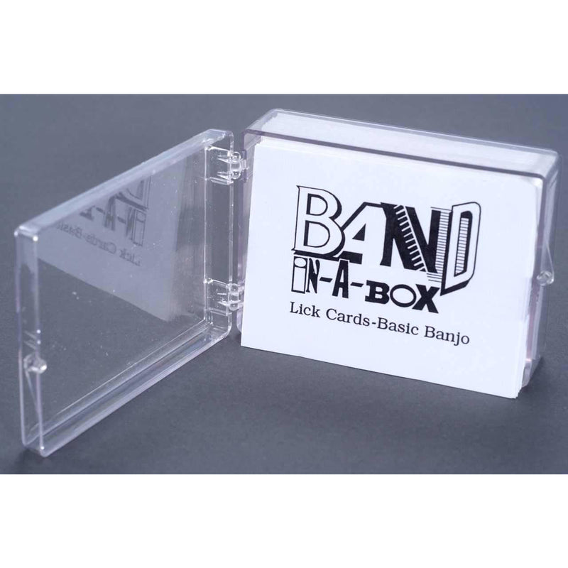 Band-in-A-Box Lick Cards - Basic Banjo