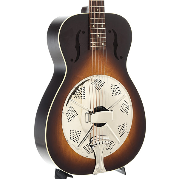 Beard Deco-Phonic Model 47 Roundneck Resonator Guitar w/Fishman Nashville Pickup & Case