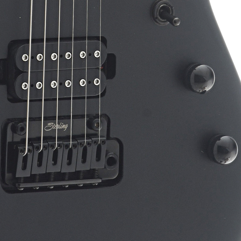 Sterling by Music Man John Petrucci JP60 Electric Guitar, Stealth Black