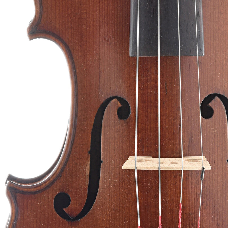 Frederick D Rowe Repair Label Violin