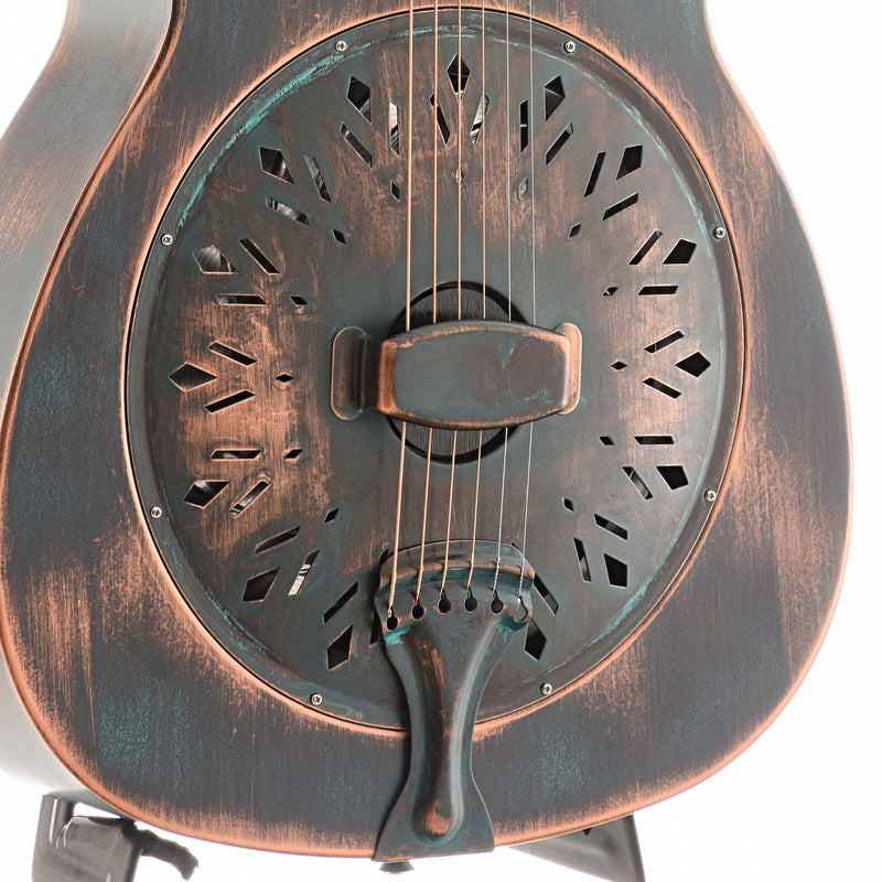 "Recording King Limited Edition ""Swamp Dog"" Resonator Guitar, Distressed  Finish"