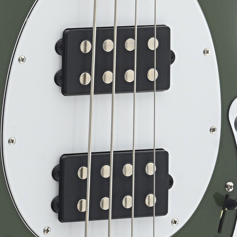 Sterling by Music Man StingRay HH Bass, Olive