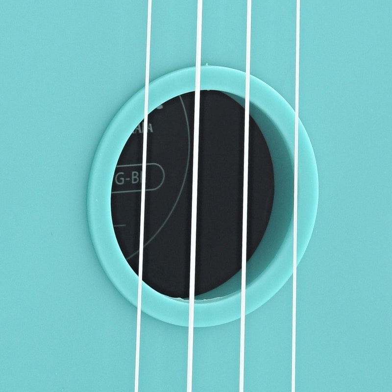 Kala Waterman KA-SWG Soprano Ukulele, Glow-in-the-Dark Aqua Matte with Carrying Bag