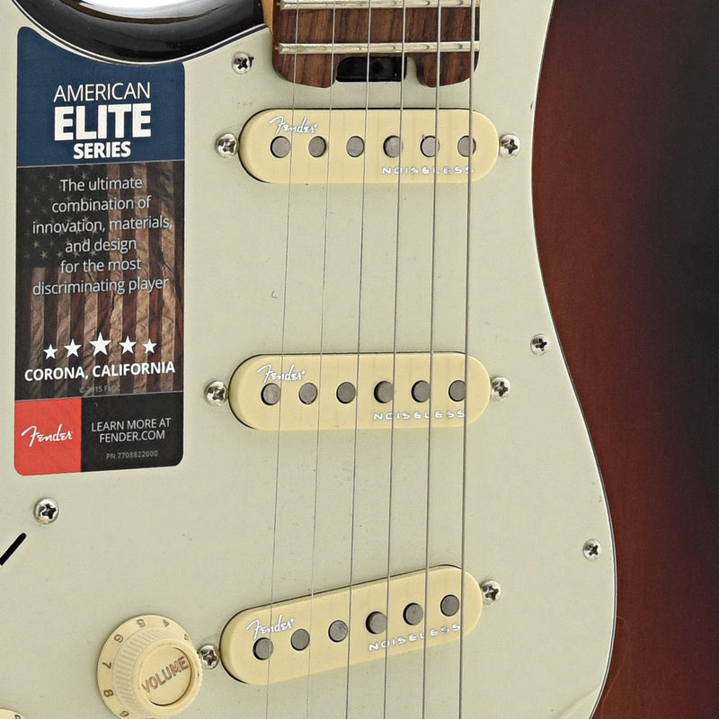 Fender American Elite Stratocaster with Case, Left Handed