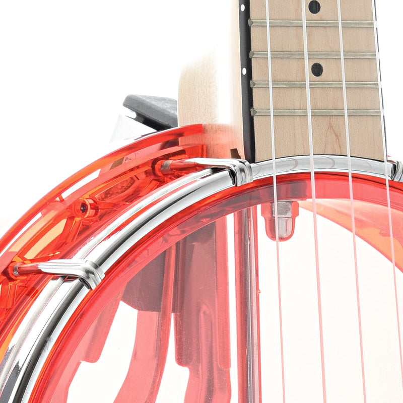 Gold Tone Little Gem Banjo Ukulele & Gigbag, Ruby (red)