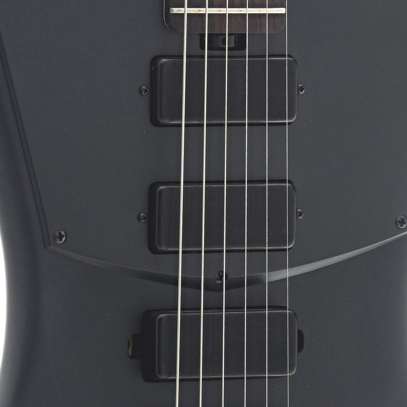 Sterling by Music Man St. Vincent STV60 Electric Guitar, Stealth Black