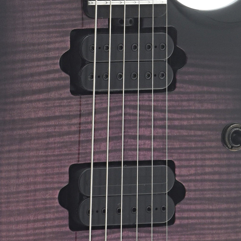 Sterling by Music Man John Petrucci JP150DFM Electric Guitar, Eminence Purple