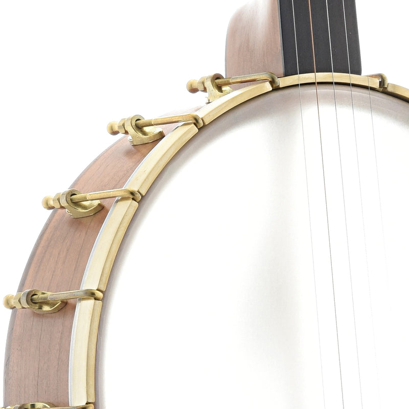 "C. Waldman 12"" Chromatic (Step-Side) Openback Banjo"