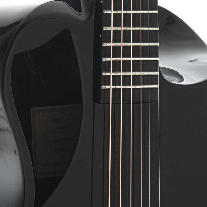 Journey Instruments OF660 Carbon Fiber Collapsible Travel Guitar with Gigbag, Gloss Finish