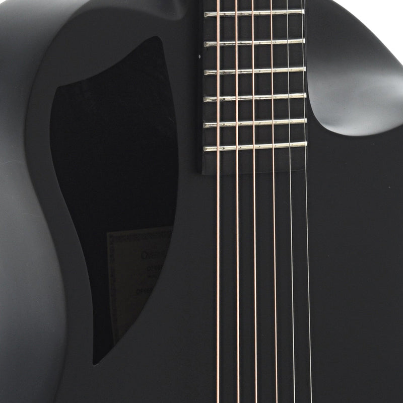 Journey Instruments OF660M Carbon Fiber Collapsible Travel Guitar with Gigbag, Matte Finish