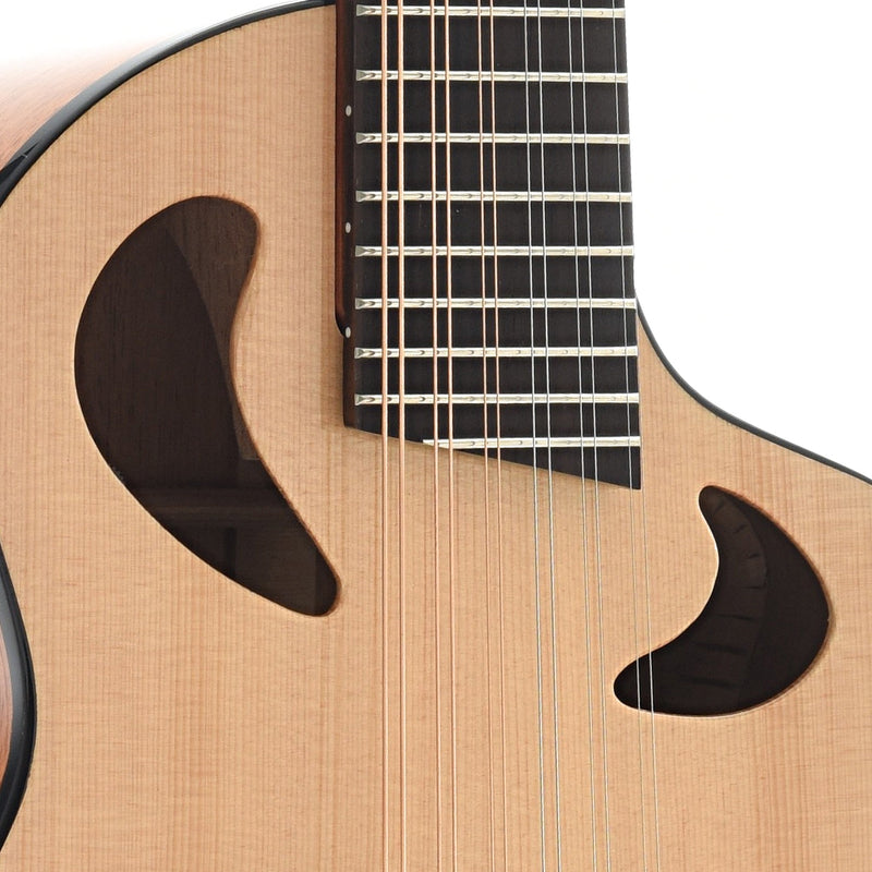 Avante by Veillette Gryphon 12-String Mini-Guitar with Case, Natural