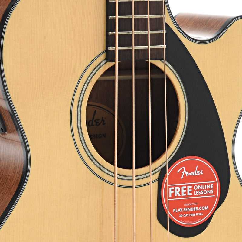 Fender CB-60SCE Acoustic Bass, Natural Finish