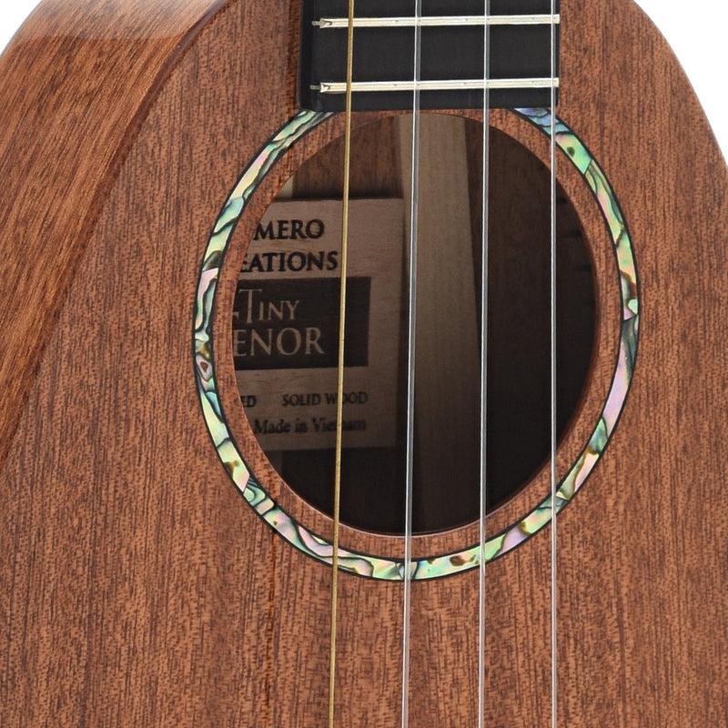 Romero Creations Tiny Tenor Ukulele, All Mahogany