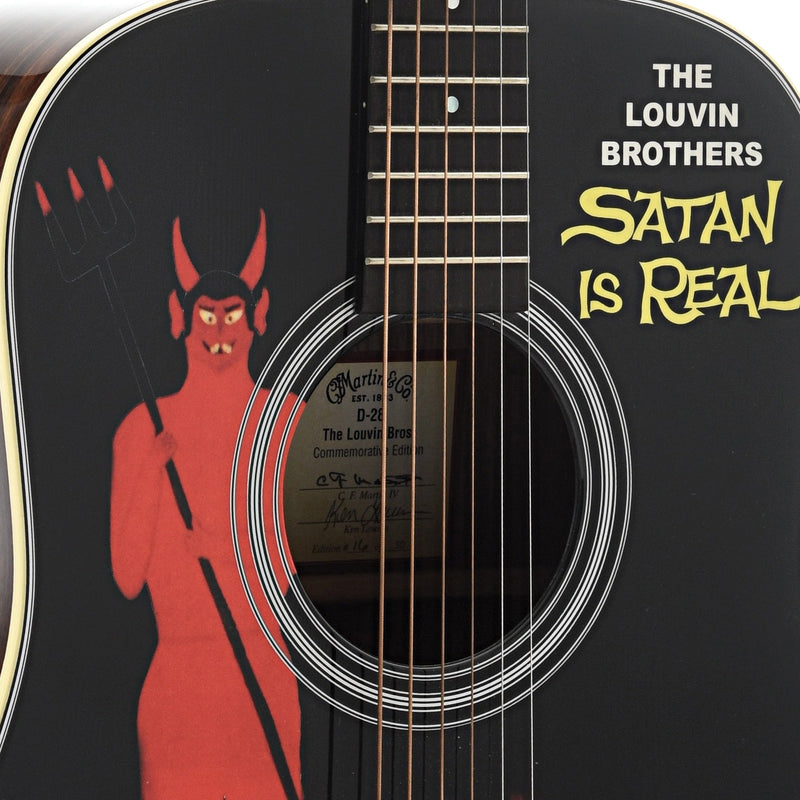 Martin D-28 Louvin Brothers Limited Edition Guitar & Case