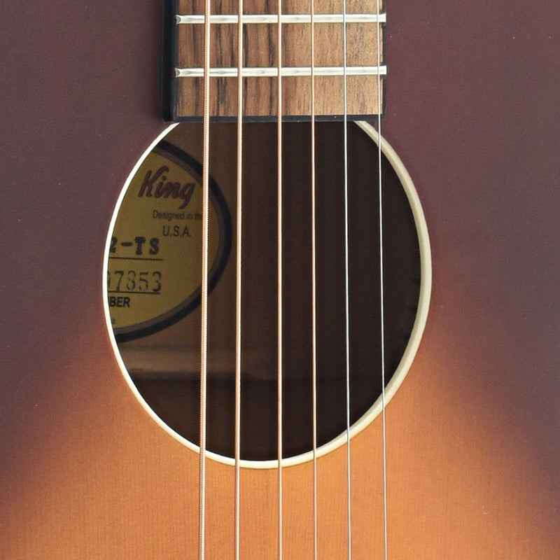 Recording King B-Stock Dirty 30's Parlor Guitar, 12-Fret, True Parlor Size