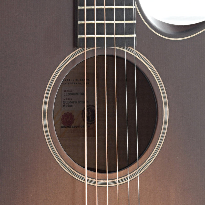Taylor 614CE Builder's Edition (2018)