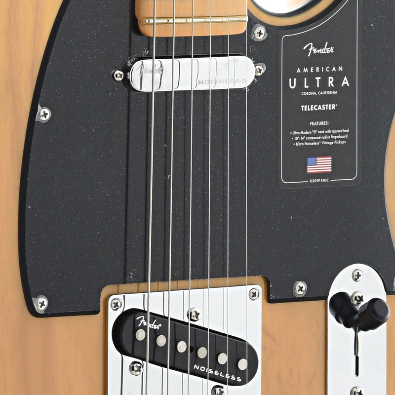 Fender American Ultra Telecaster, Butterscotch Blonde