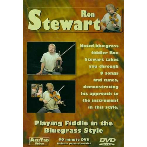 DVD - Ron Stewart - Playing Fiddle in the Bluegrass Style