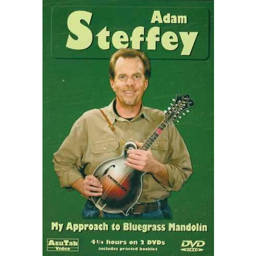 DVD - Adam Steffey - My Approach to Bluegrass Mandolin