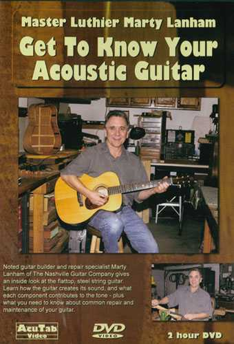 DVD - Get to Know Your Acoustic Guitar