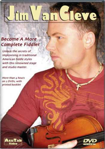 DVD - Jim Van Cleve - Become a More Complete Fiddler