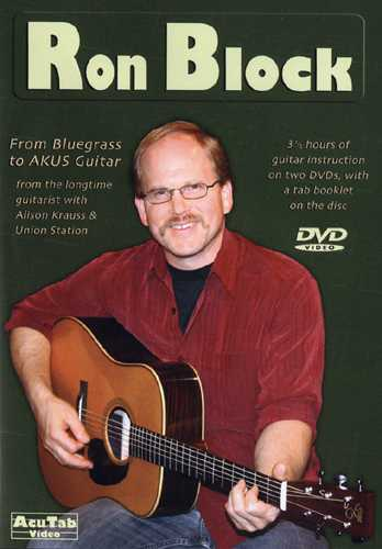 DVD - Ron Block - From Bluegrass to Akus Guitar