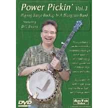 DVD - Playing Banjo Backup in a Bluegrass Band: Power Pickin' Vol. 3