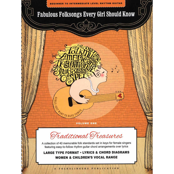 Fabulous Folksongs Every Girl Should Know - Volume One: Traditional Treasures