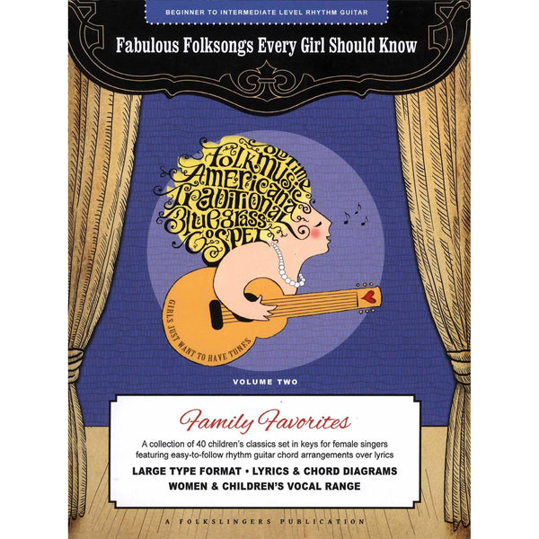 Fabulous Folksongs Every Girl Should Know - Volume Two: Family Favorites